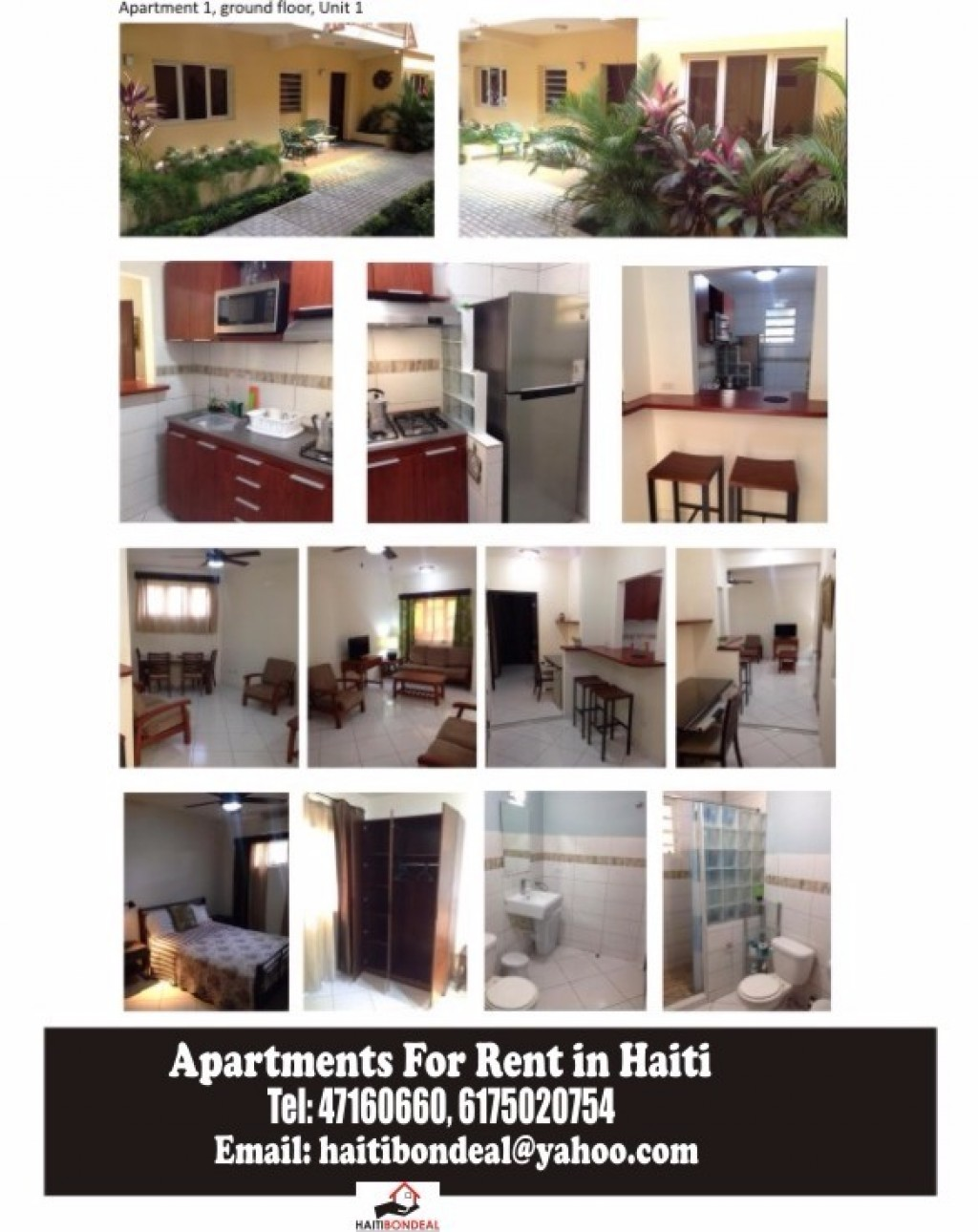 Appartement ou studio meubl a louer route de freres for Appartement a louer meuble